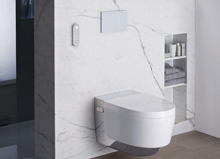 WC mit Wellnessfaktor