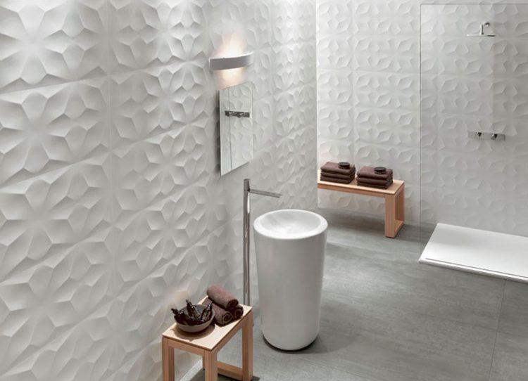 die badezimmer wand kann auch ohne fliesen muss aber nicht. Black Bedroom Furniture Sets. Home Design Ideas