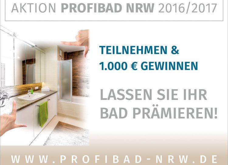 Aktion ProfiBad NRW und mehr